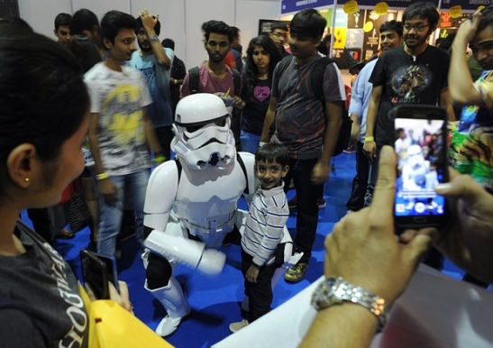 star wars mumbai comic con