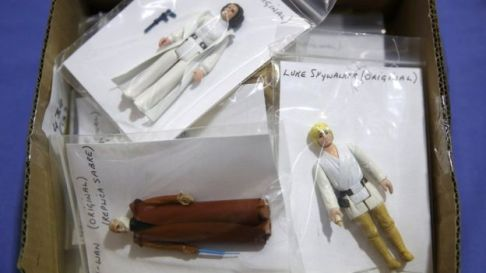 The original Star Wars toys from the 1980s are still sold at auction and are sought-after by collectors